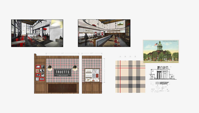 Truetts Cafe Design Development