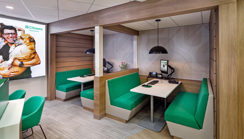 Citizens Case Study Interior Booth Privacy