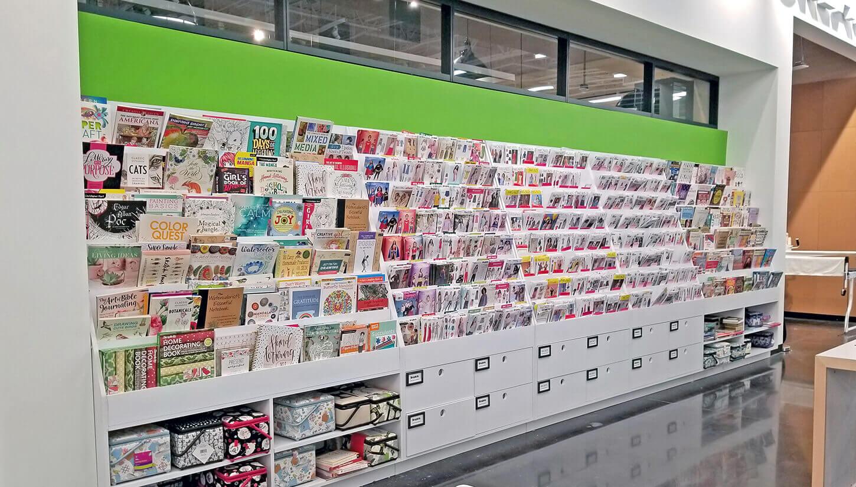 joanns cards display