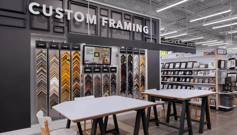 joanns custom framing