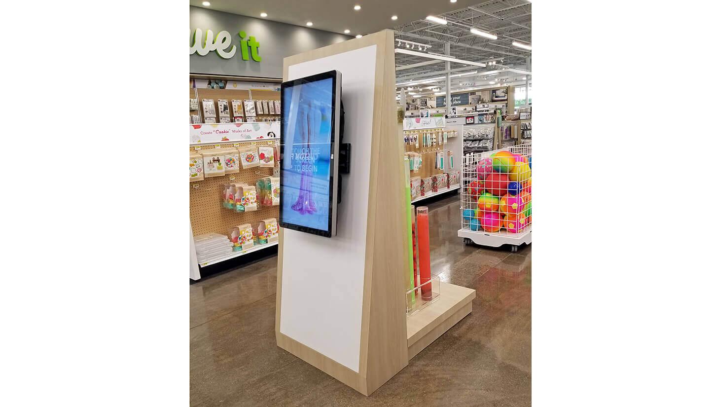 joanns display digital side