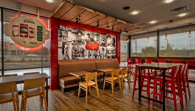 Krispy Kreme Dining Room