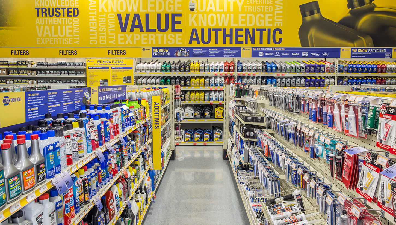 Retail Design: NAPA
