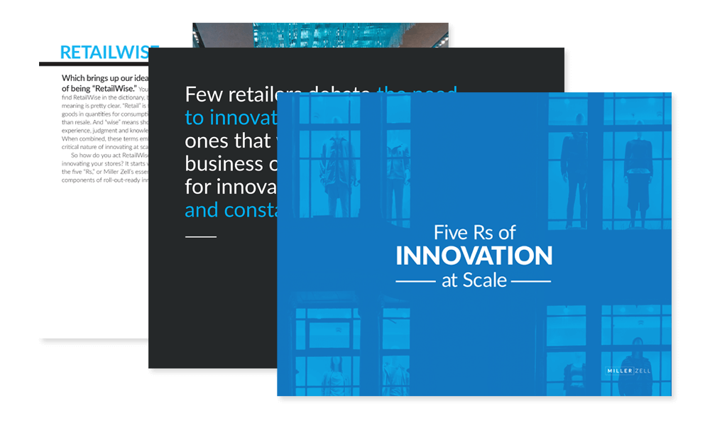 Retail Innovation at Scale