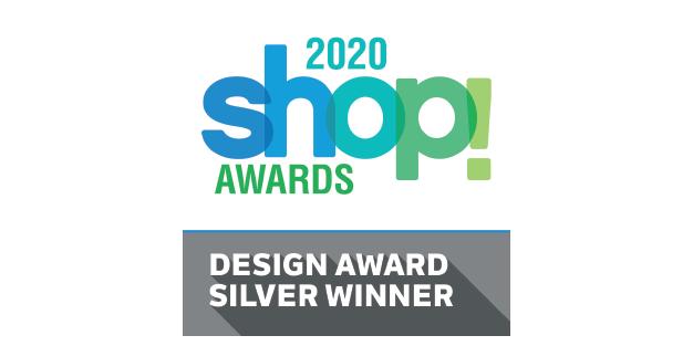 2020 Shop Awards Silver Design Winner