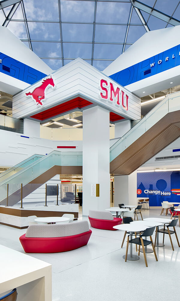 Branded Environments Athletics and Higher Education Southern Methodist University