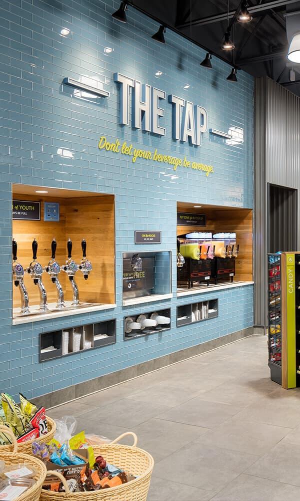Branded Environments Retail Alltown