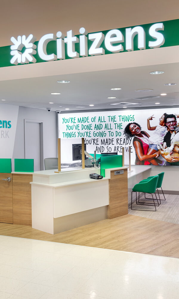 Branded Environments Retail Banking Citizens