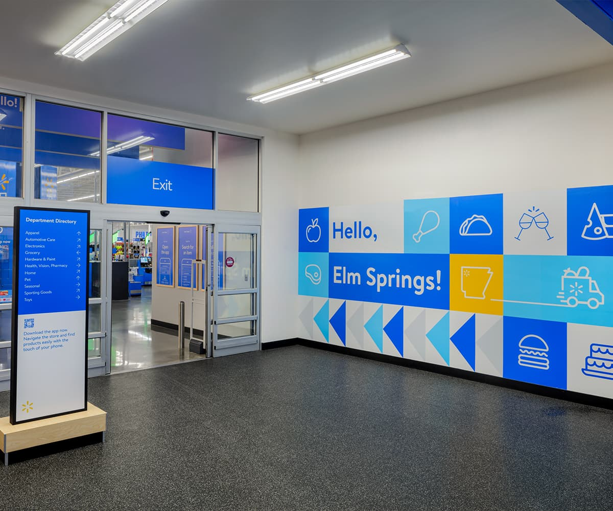 Services strategy and design Walmart